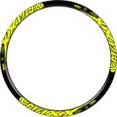 Adesivo Vmaxx 26 Disc Amarelo Neon