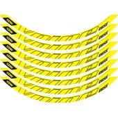 Adesivo Vnine 29 Disc Amarelo Neon