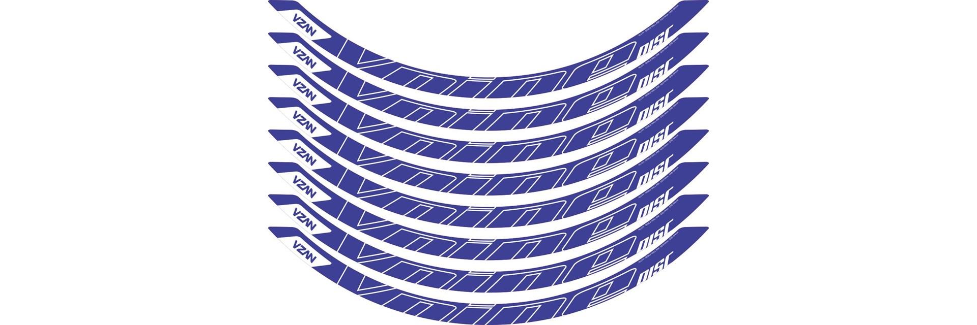 Adesivo Vnine 29 Disc Azul