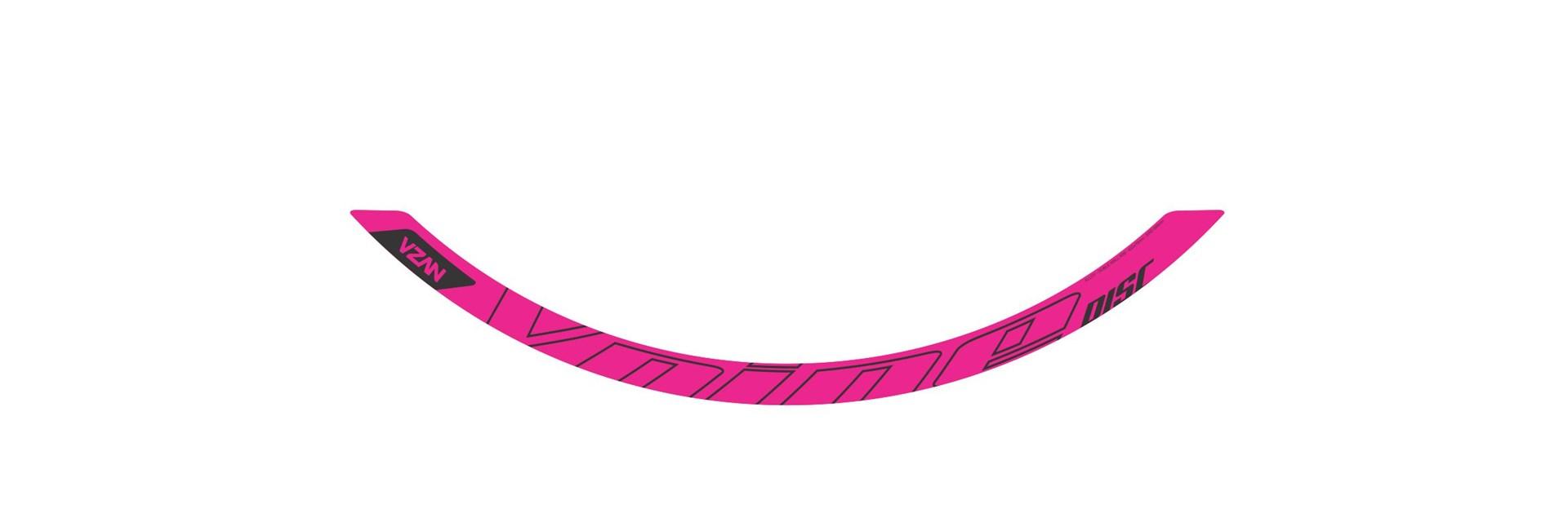 Adesivo Vnine 29 Disc Rosa Neon