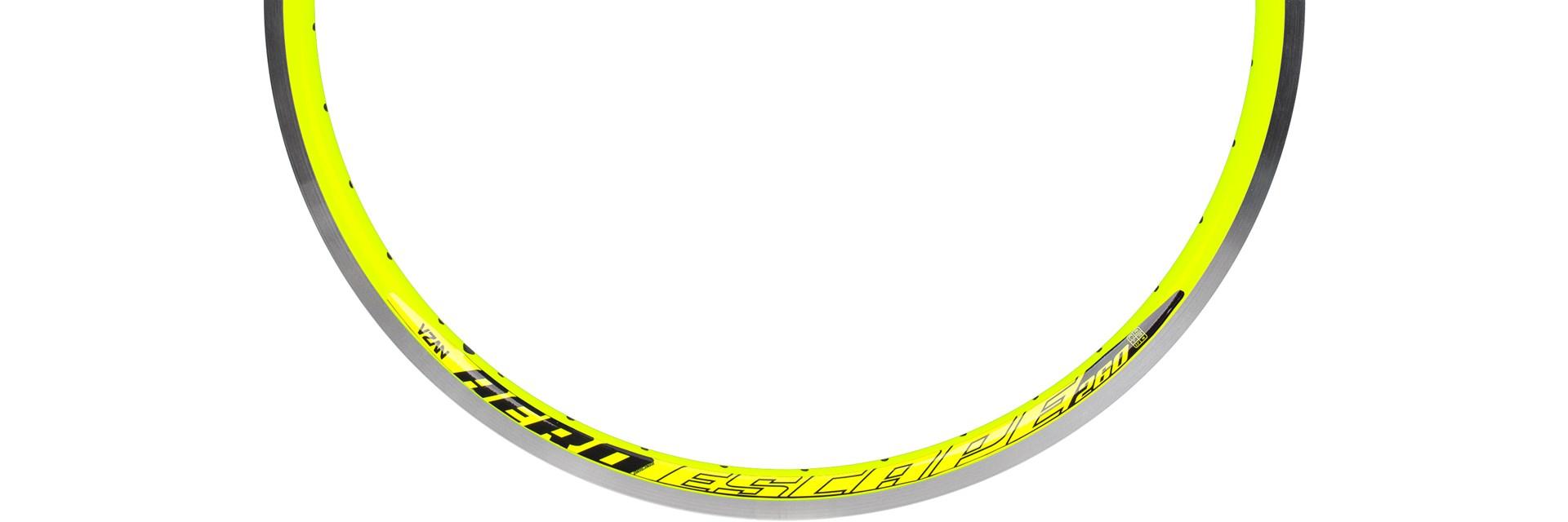 Aro Escape 260 26X1.1/2 36F Amarelo Neon