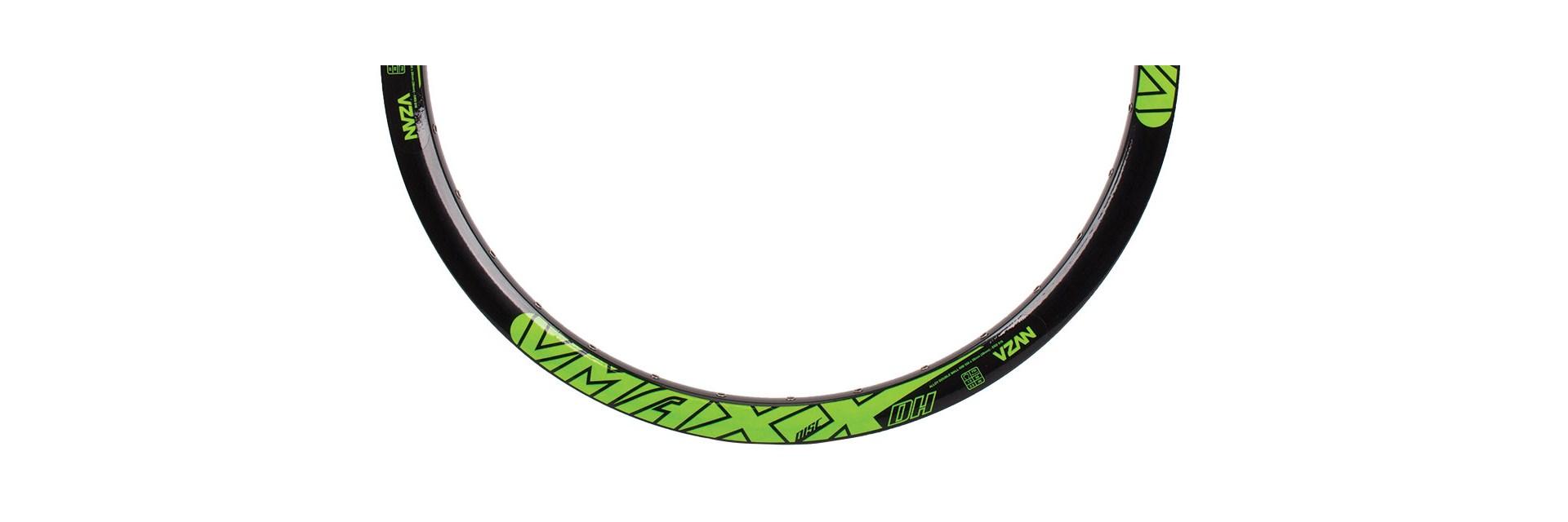 Aro Vmaxx 26/36F Preto Disc C/ Ilhos Ad Verde Neon