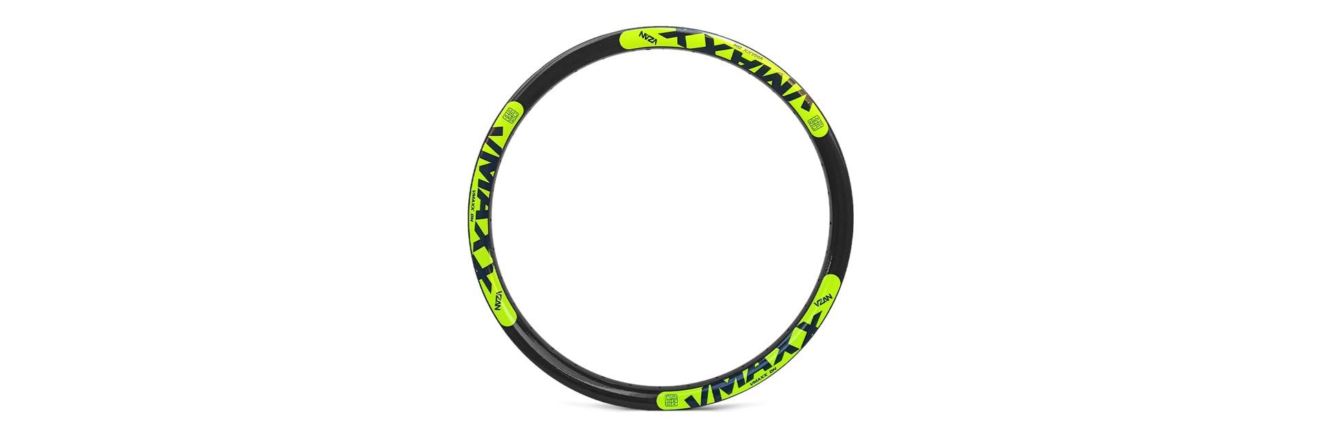 Aro Vmaxx Lt 26/36F Preto Disc - Ad Amarelo Neon