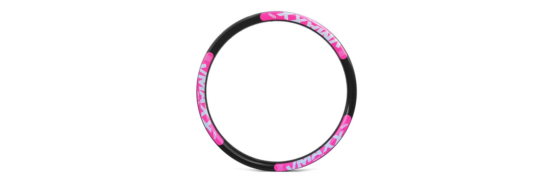 Aro Vmaxx Lt 26/36F Preto Disc - Ad Rosa Neon