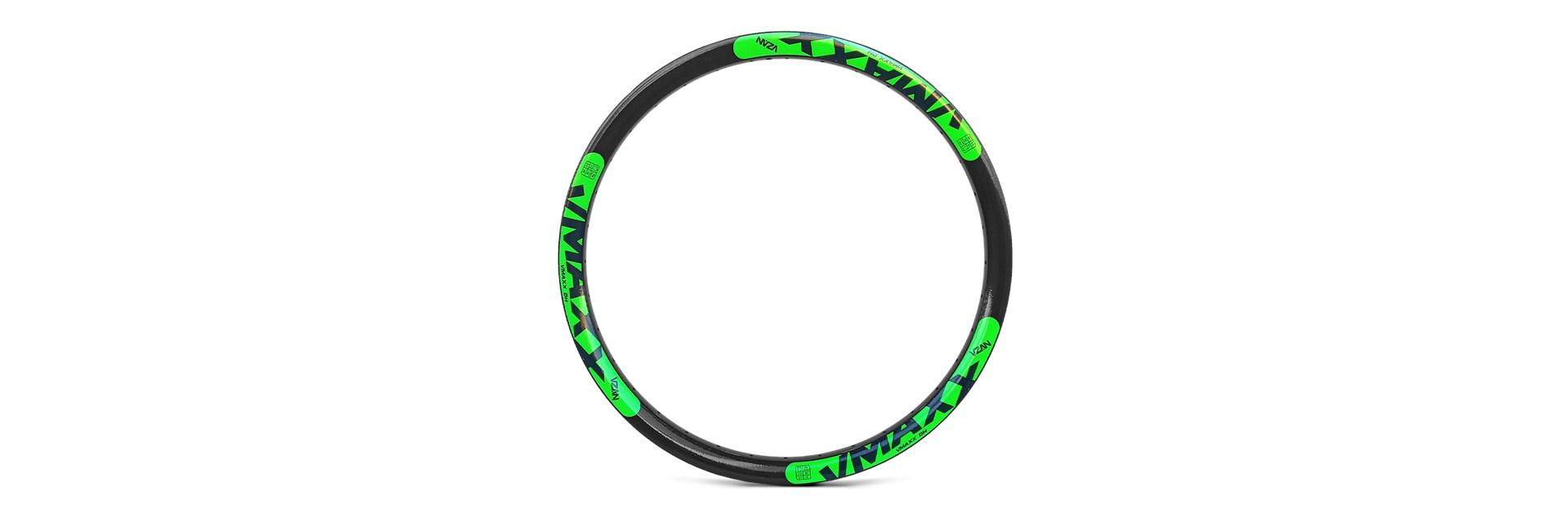 Aro Vmaxx Lt 26/36F Preto Disc - Ad Verde Neon