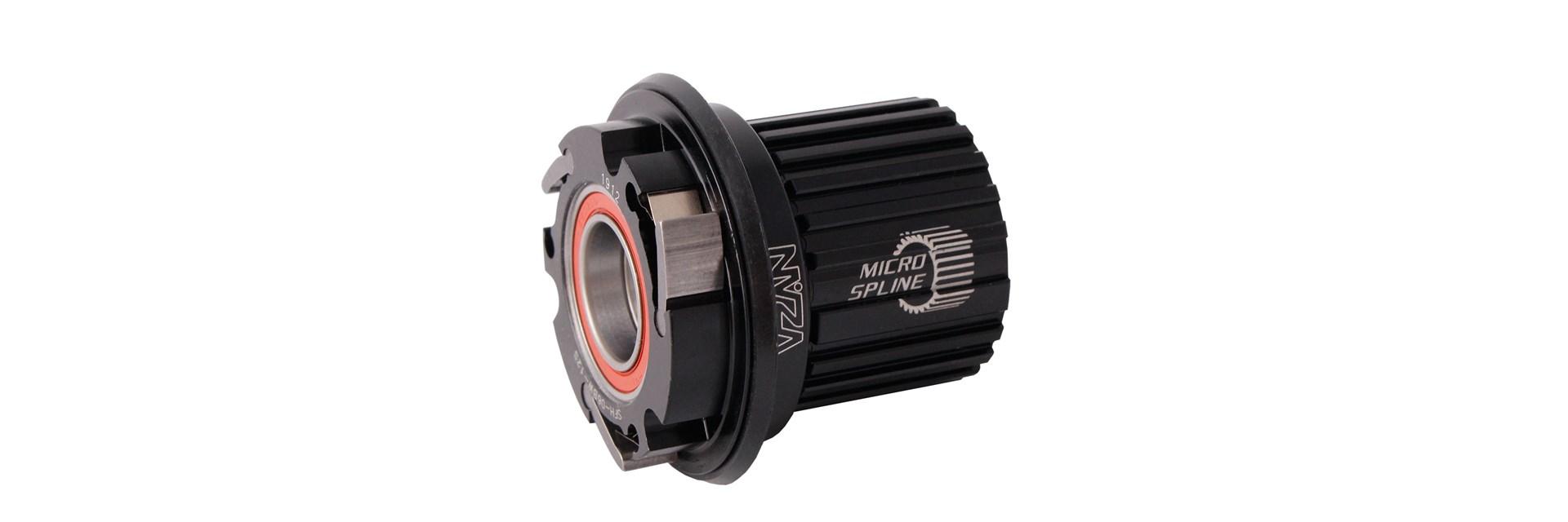 Cubo Traseiro Mtb 135/142 Preto Micro Spline - V17