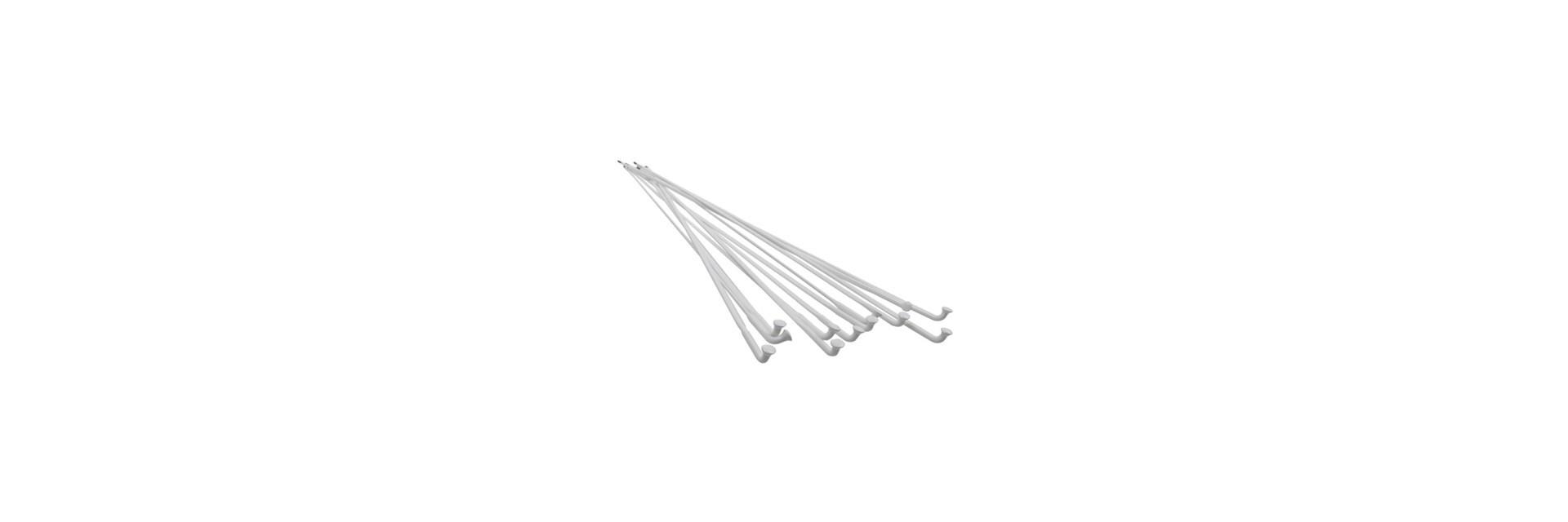 Raio Aerodinamico Flat 2.0 Branco - Cabeça Curva
